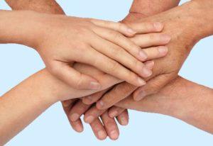 Kuschelhimmel Hände